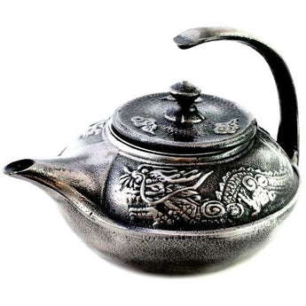 Imperial Dragon Cast Iron Teapot - Shineworthy Tea