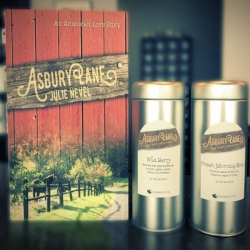 Asbury Lane: Book + Tea Collection - SHINEWORTHY TEA