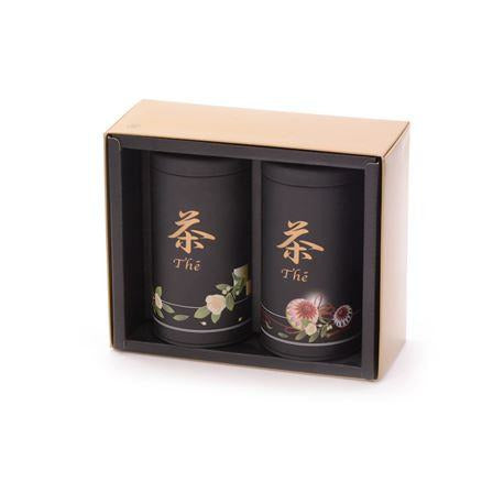 Japanese Tea Tin Set - Shineworthy Tea