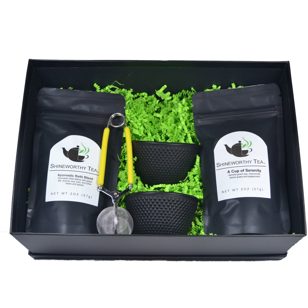 Spa In a Cup Gift Set - Shineworthy Tea