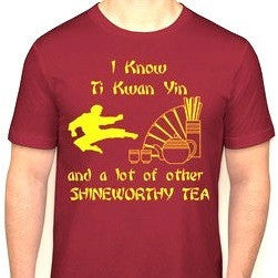 Ti Kwan Yin T-Shirt - Shineworthy Tea