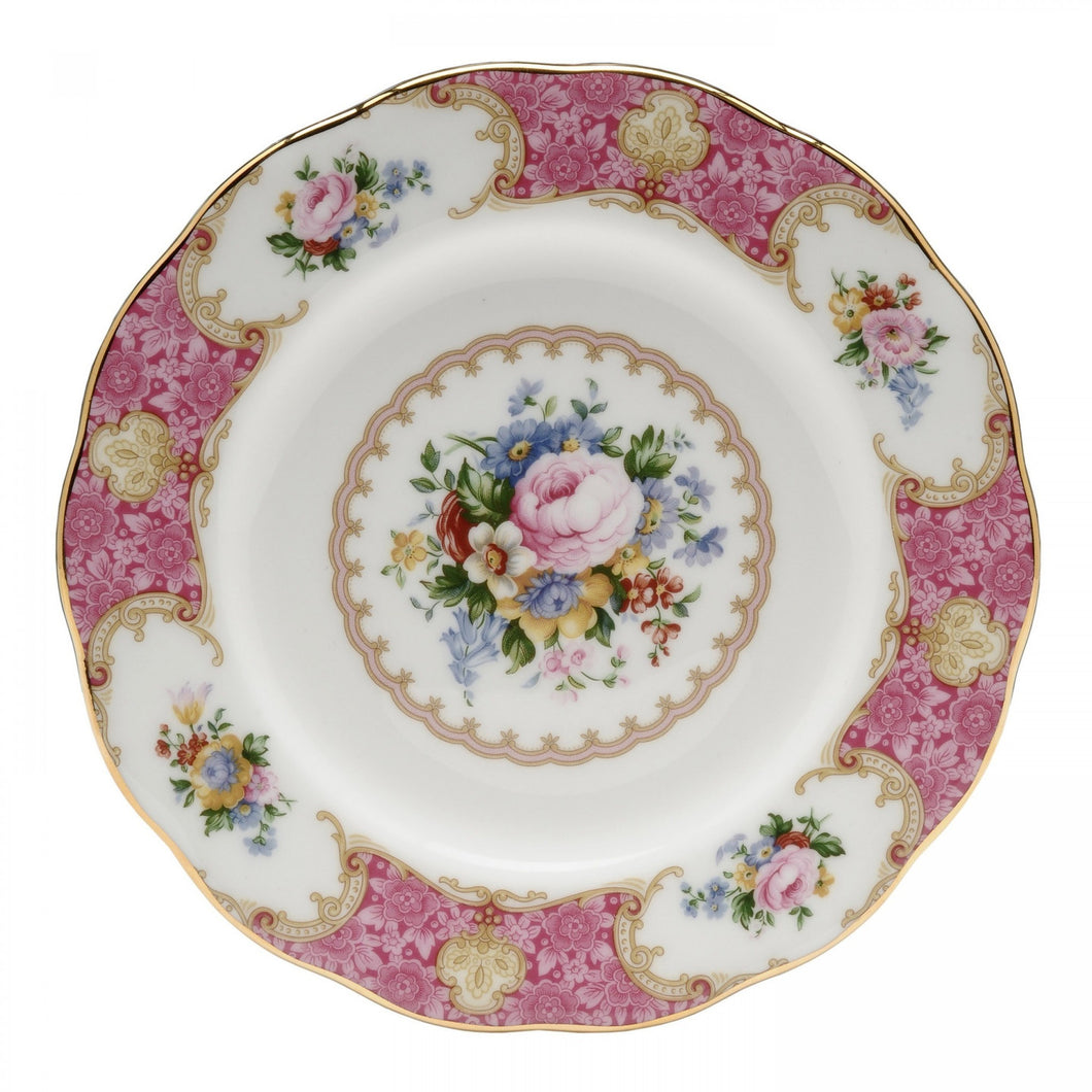 Royal Albert Lady Carlyle Salad Plate - Shineworthy Tea