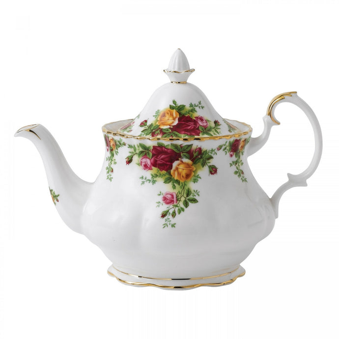 Royal Albert Old Country Roses Teapot - Shineworthy Tea