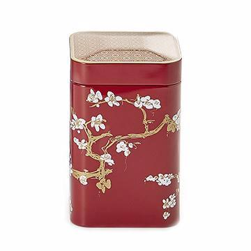Japanese Style Tea Tin - Red - Shineworthy Tea