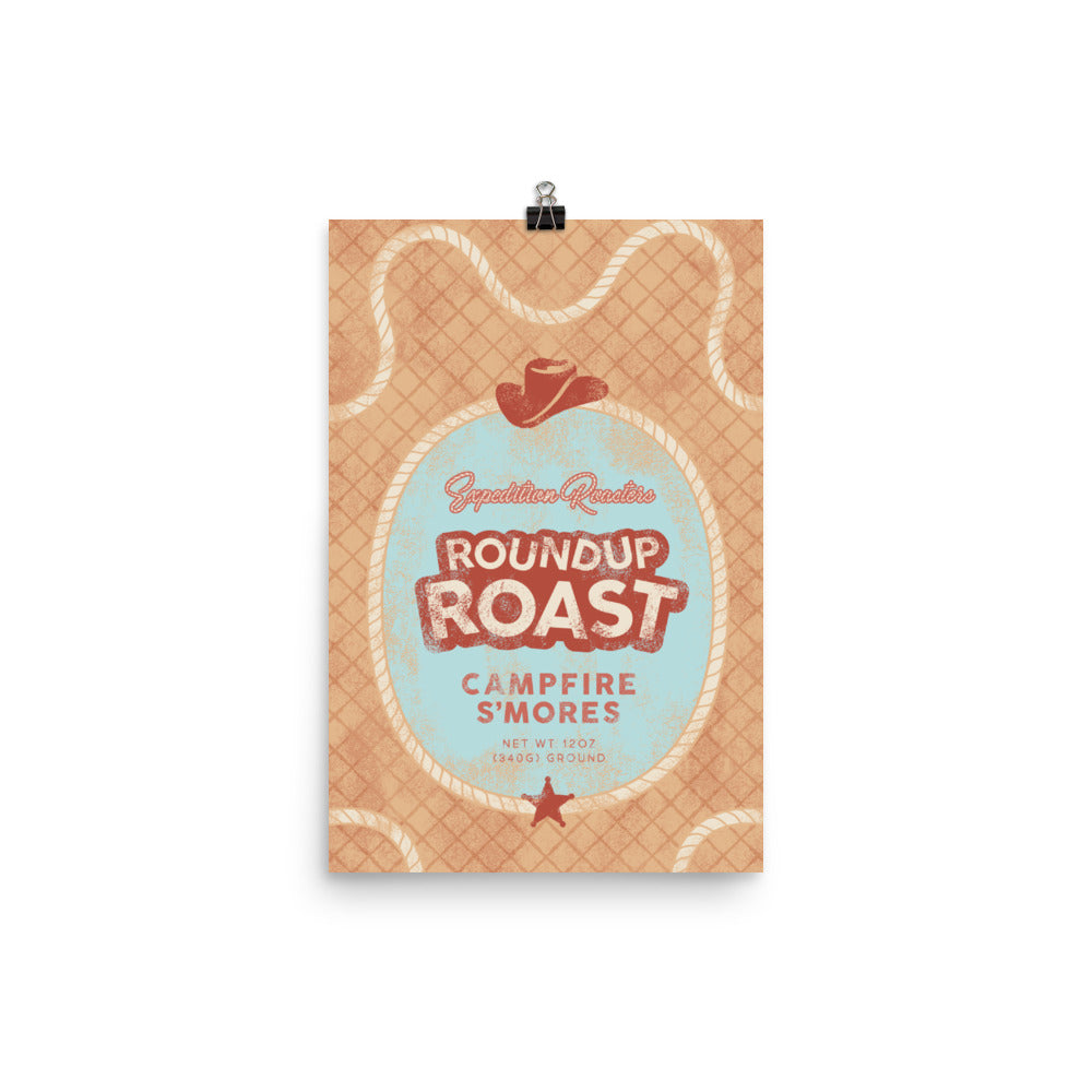 Expedition Roasters Roundup Roast Poster
