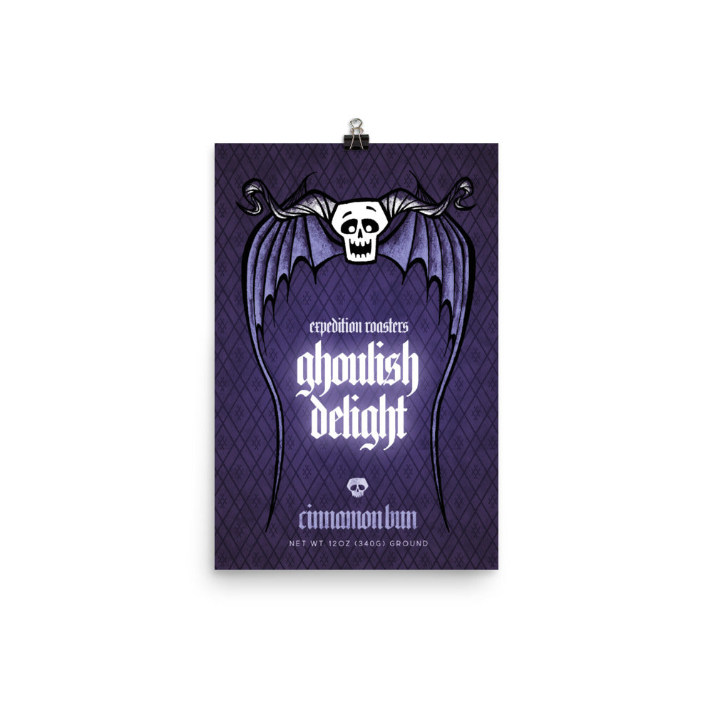 Ghoulish Delight Art Print