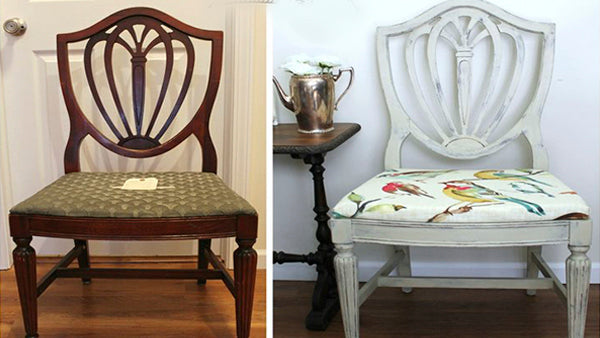 DIY Chair Makeover - Shabby Chic