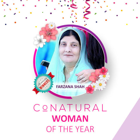 Farzana Shah: Conatural Woman of the Year 2016