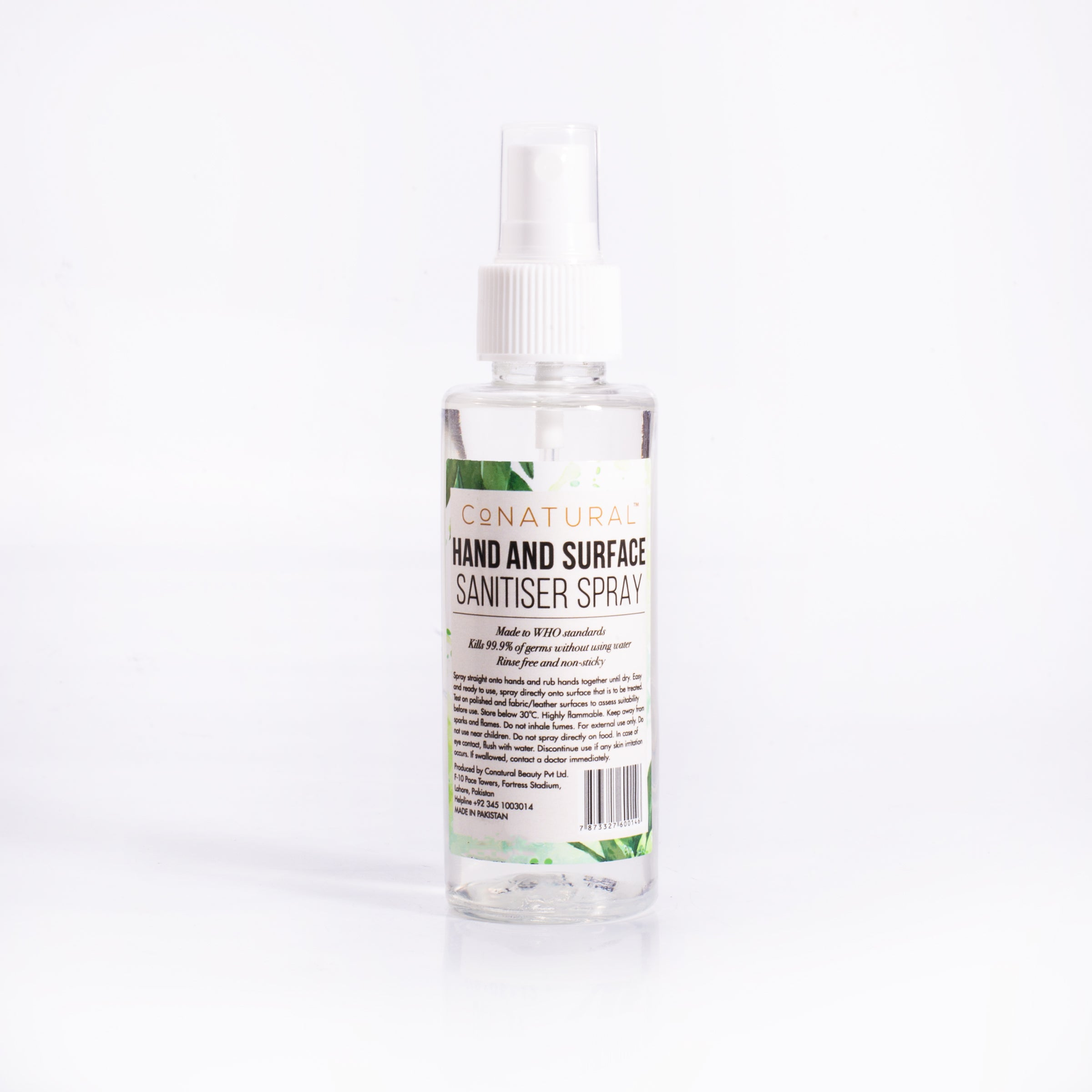 Hand And Surface Sanitiser Spray