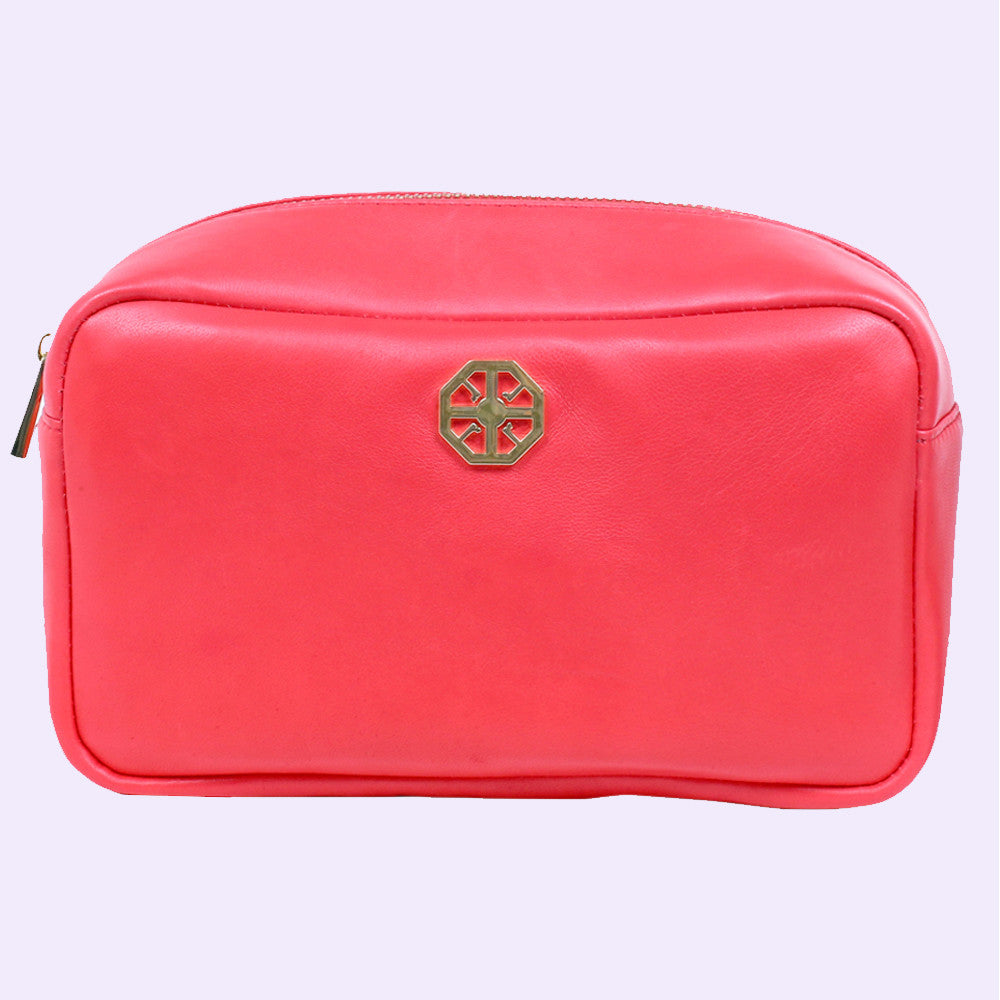 Toiletry Bag (Red) - Conatural