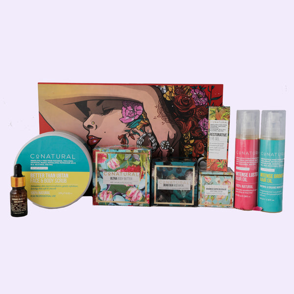 Ultimate Bridal Beauty Kit - Face, Body And Hair - Conatural