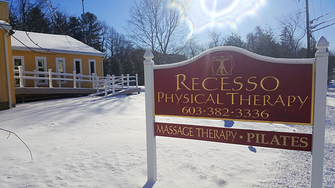 This New England Physical Therapy Center Protects Patients from Icy & Slippery Walkways