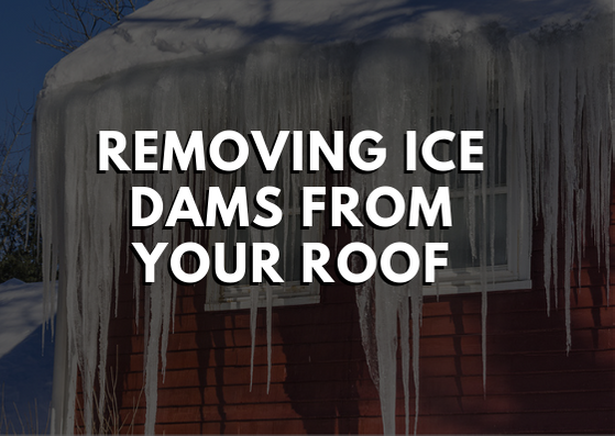 Removing Ice Dams From Your Roof
