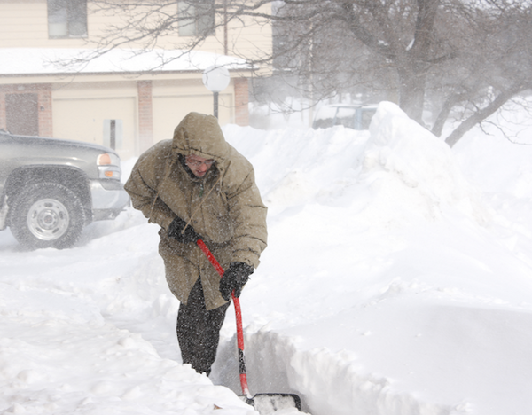 Tips to Lessen the Strain of Snow Shoveling on Your Heart Health