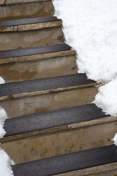 Residential Snow-Melting Heated Stair Mat