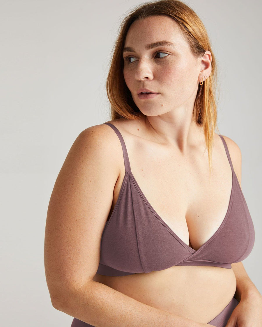 RICHER POORER - BRALETTE CLASSIQUE - PLUM SMOKE