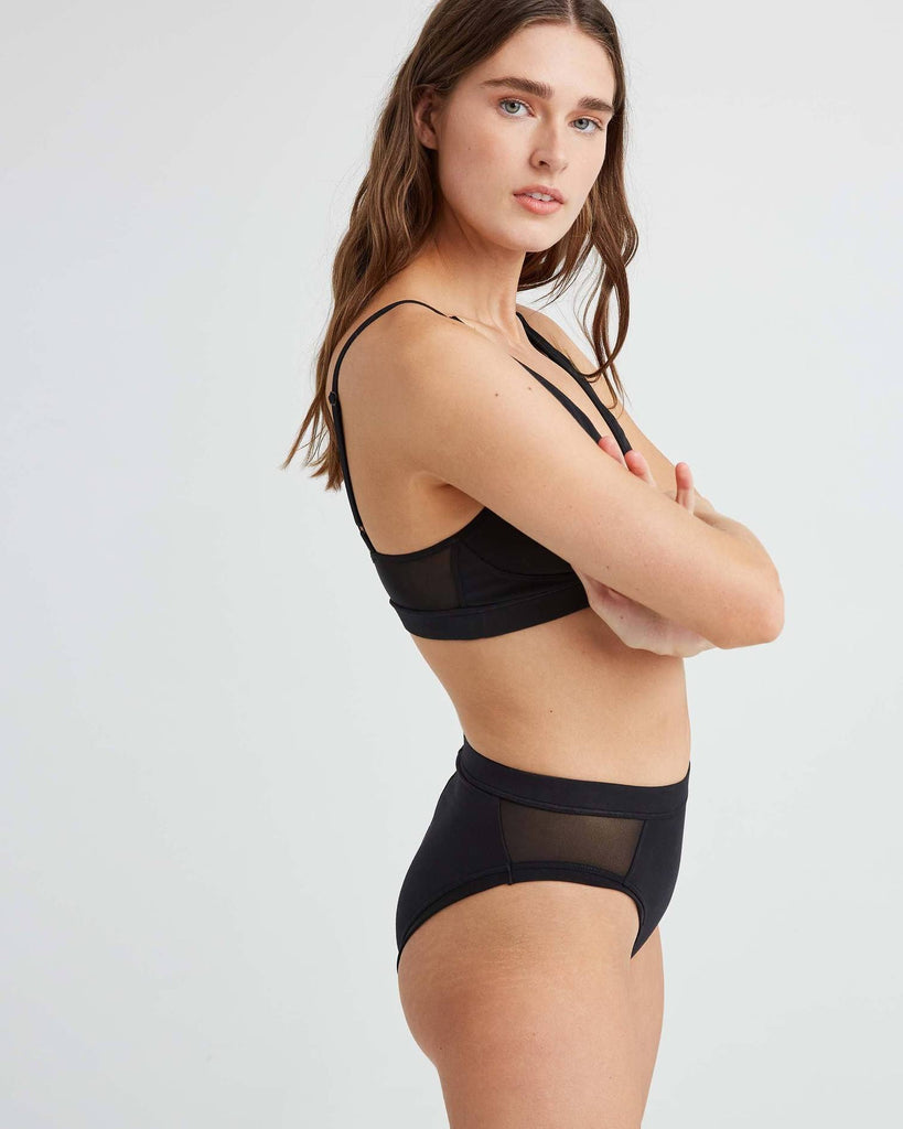 RICHER POORER - HIGH CUT BRIEF - NOIR
