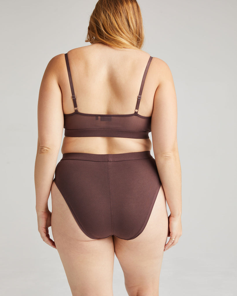 RICHER POORER - HIGH CUT BRIEF - TRUFFLE