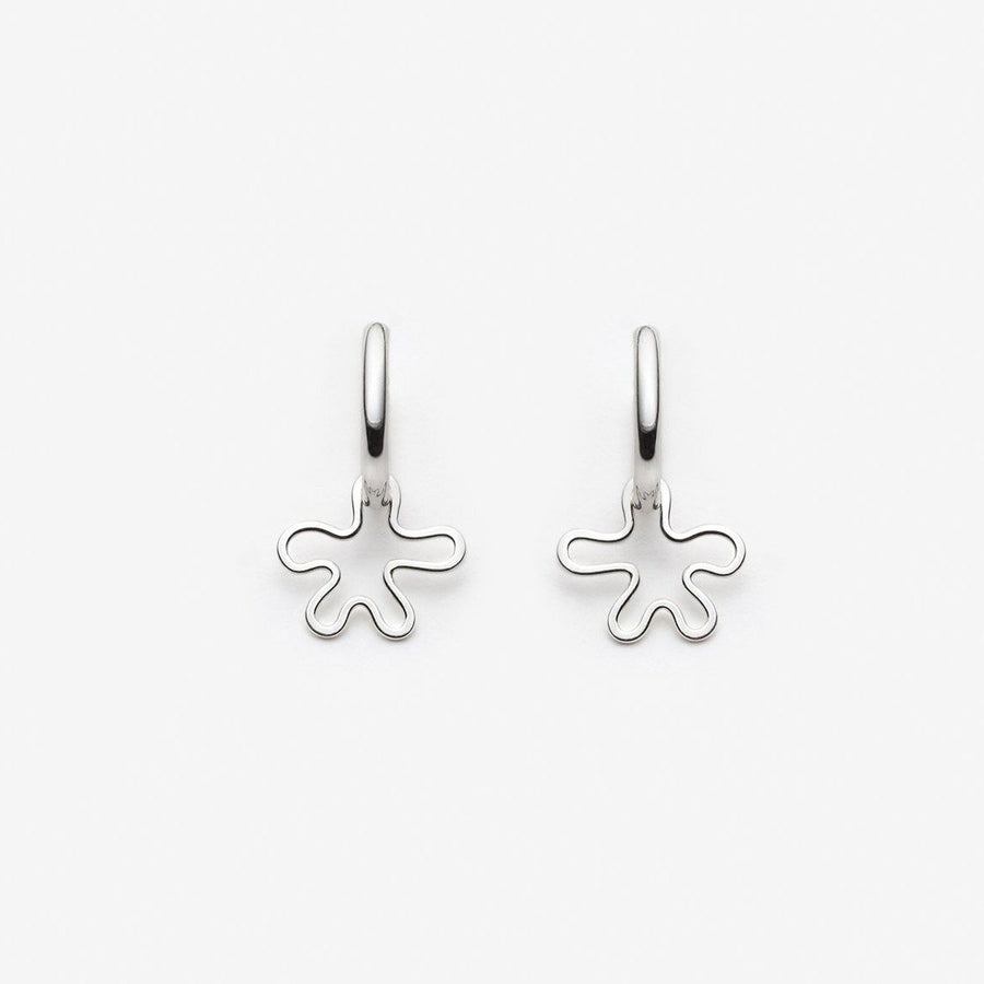 PILAR AGUECI - EARRINGS AZOLLA - SILVER