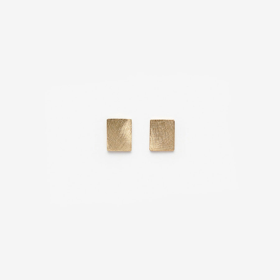PILAR AGUECI - CHIP EARRINGS - 14K YELLOW GOLD