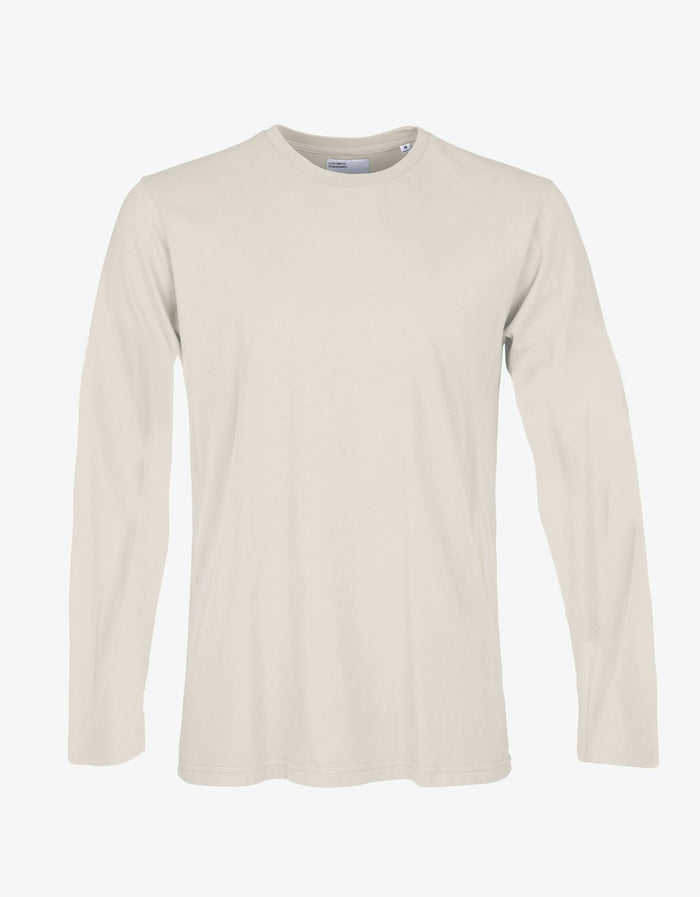 COLORFUL STANDARD - LONG SLEEVE T-SHIRT - IVORY WHITE
