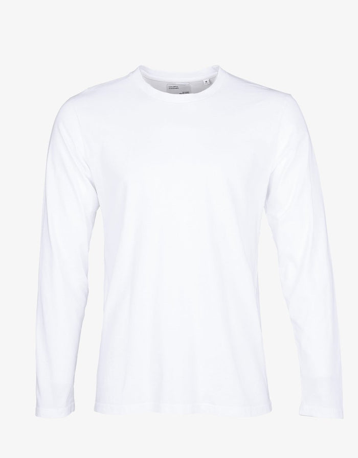 COLORFUL STANDARD - LONG SLEEVE T-SHIRT - OPTICAL WHITE