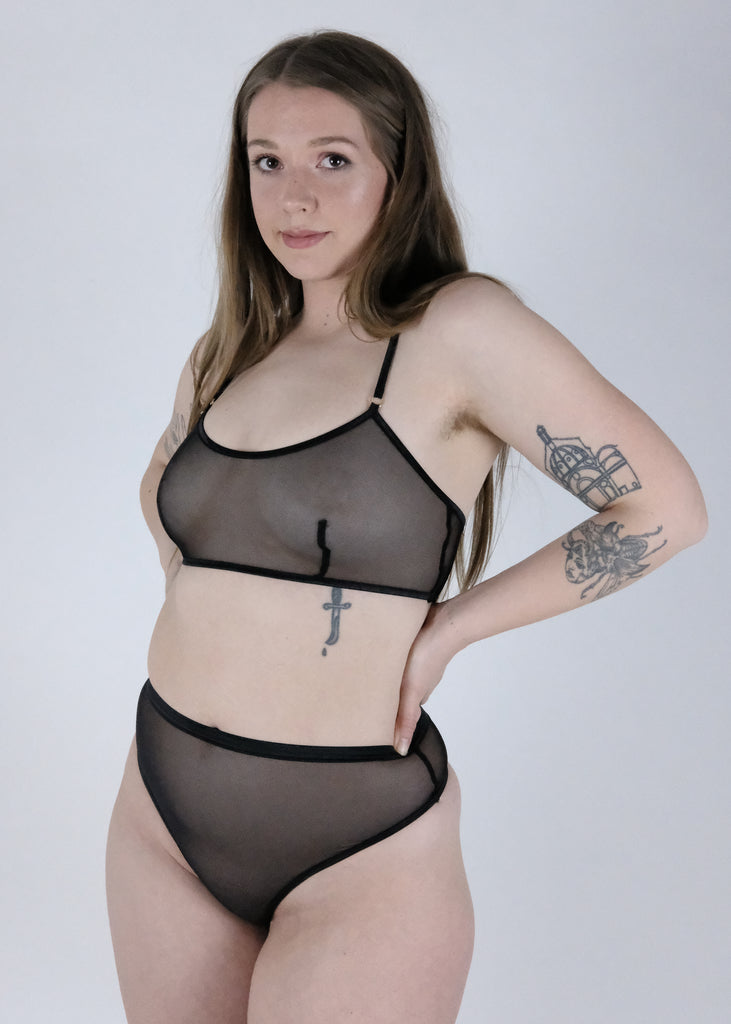 STAY SOFT - BRALETTE AYANA FULL - NOIR