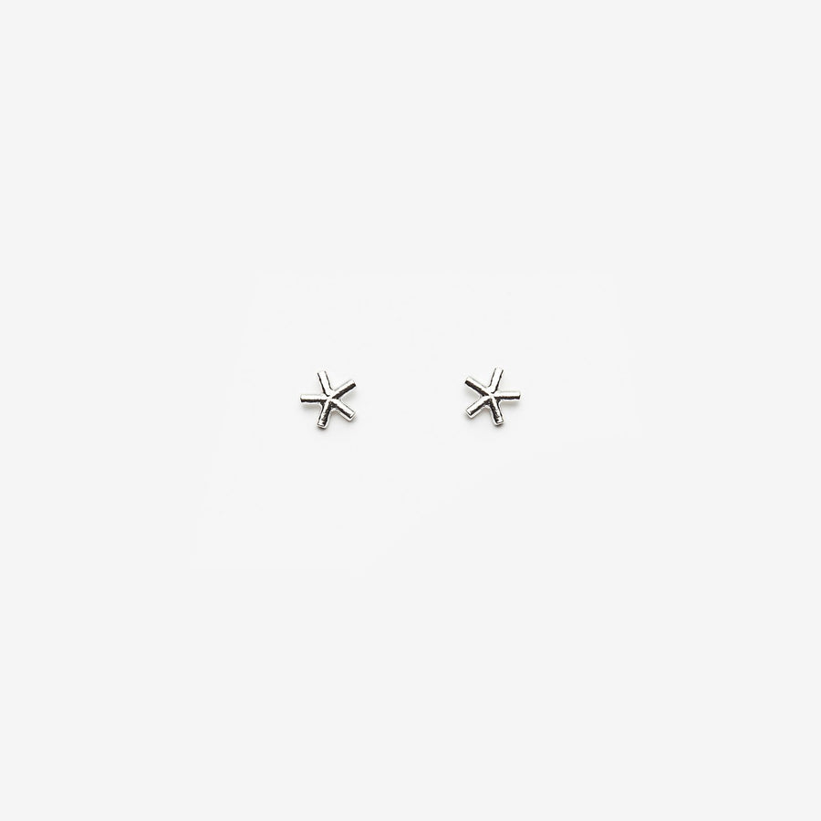 PILAR AGUECI - EDDIE EARRINGS - STERLING SILVER
