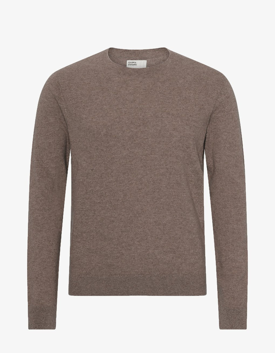 COLORFUL STANDARD - CLASSIC MERINO WOOL CREW - WARM TAUPE