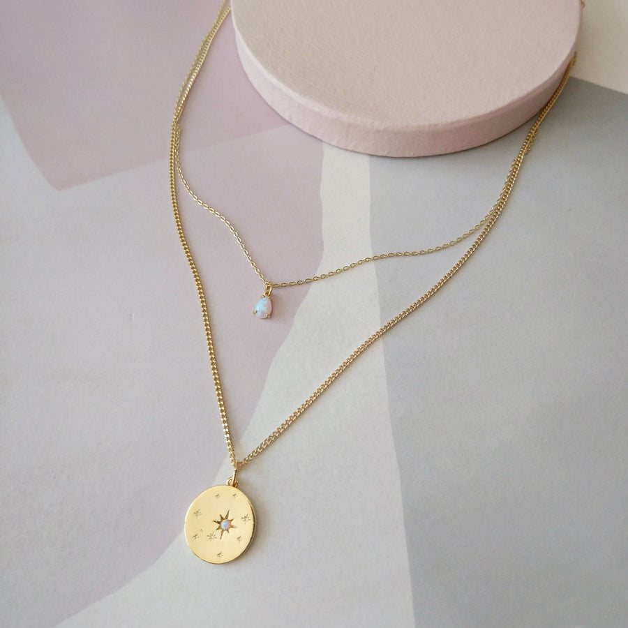 SANDRINE DEVOST - SD1580 - DUO NECKLACE
