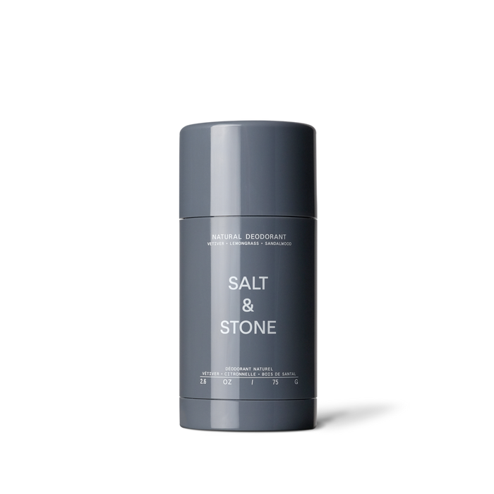 SALT & STONE - DÉODORANT NATUREL - VETIVER + LEMONGRASS