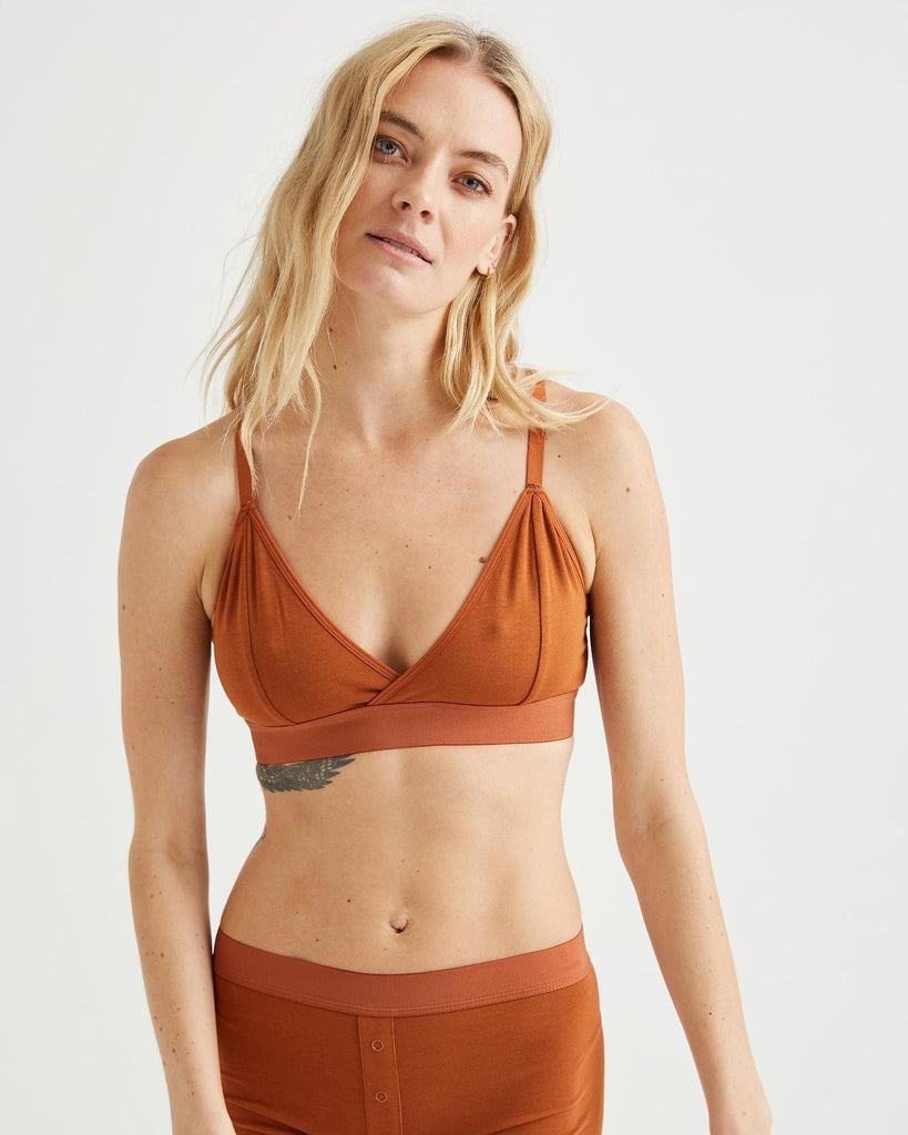 RICHER POORER - BRALETTE CUTOUT - CHARBON