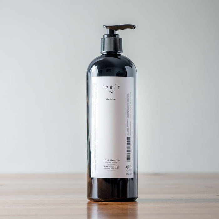 TONIC - GEL DOUCHE - EUCALYPTUS+PAMPLEMOUSSE+ORANGE DOUCE