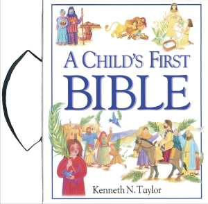 A Child's First Bible with Handle