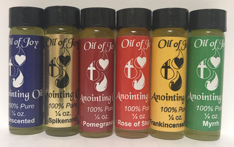 Anointing Oil - Sold Separately