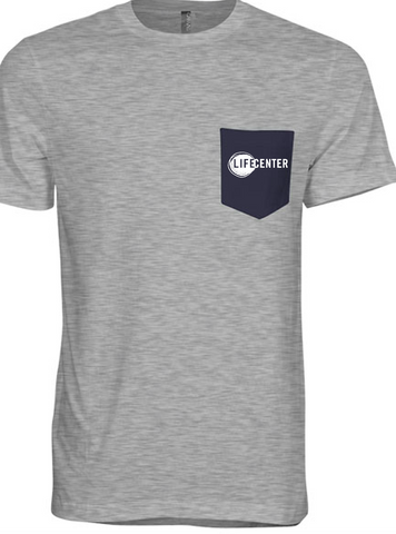 Grey Life Center T-Shirts