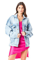 AUDREY QUARTZ DENIM JACKET