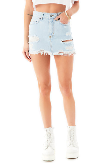 COLIN JACKSON DENIM SKIRT