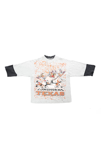 DOUBLE GRAPHIC CARTOON TEE