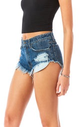 MOGAN AGATE DENIM SHORT