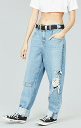Carmar Denim: HARBOR ALEXAS ULTRA BAGGY LOW RISE JEAN - JEANS