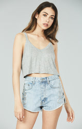 Carmar Denim: ARVE CORDELIA APPLIQUE SIDE SHORT -