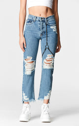 MARZ EMELIA CHAIN HARNESS JEAN