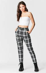 MAGS & PYE PLAID HARNESS PANT