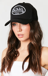 VON DUTCH USA TRUCKER HAT