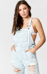 JERICHO SUPER SHRED DENIM OVERALL
