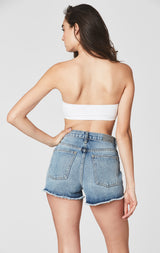 Carmar Denim: AUSTIN PARIS HIGH RISE SHORTS - SHORTS