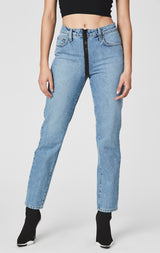 Carmar Denim: SAVANNAH EMELIA FULL FRONT ZIP JEAN - JEANS