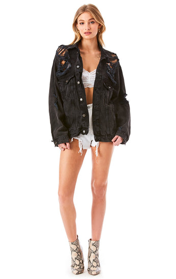 AUDREY KINRADITE DENIM JACKET