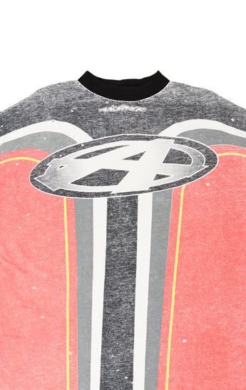 STONEWASHED MOTORCROSS LONG SLEEVE